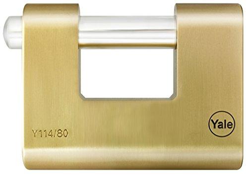 Yale Y114/80/118/1 Candado de Seguridad, 80 mm
