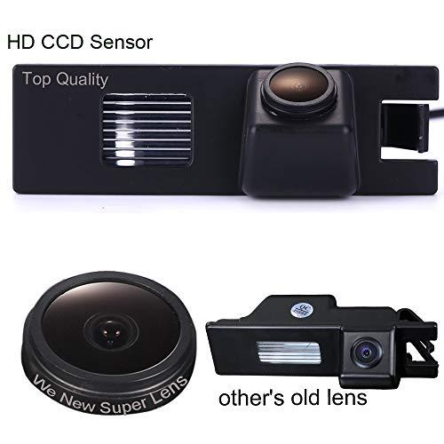 1000TV Linien Sternenlicht HD Rückfahrkamera verbesserte Einparkhilfe mit 8IR Nachtsicht 170° Weitwinkel Wasserdicht HD für Opel Astra H Corsa Zafira Insignia Haydo Vectra Regal Buick Excelle XT