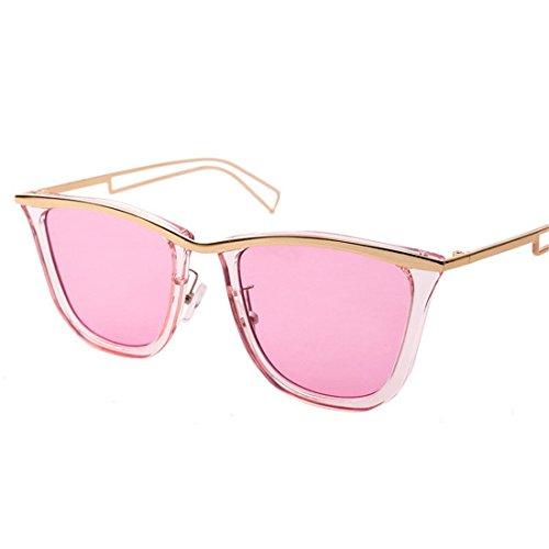 GCC Sonnenbrillen Fashion Star Persönlichkeit ausgesetzt Sonnenbrille, D.
