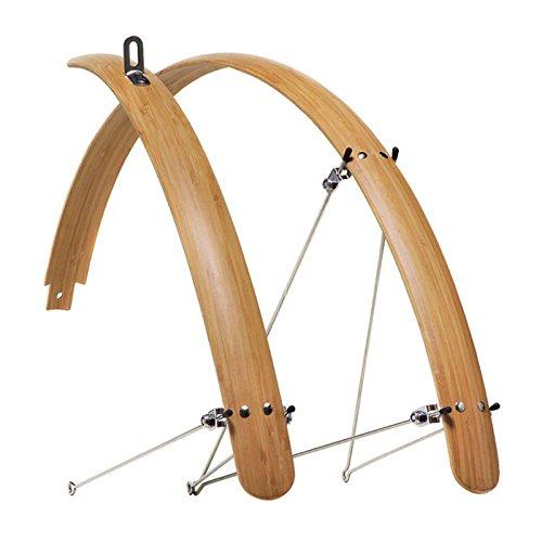 my Boo Fahrrad Bambus Schutzblech 28 Zoll Handarbeit 45 mm Breite Rad, BamSch