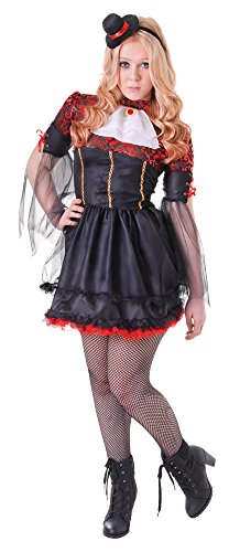 m Novelties TC113 Vampirin Kostüm, rot, UK Size 6-8 ()