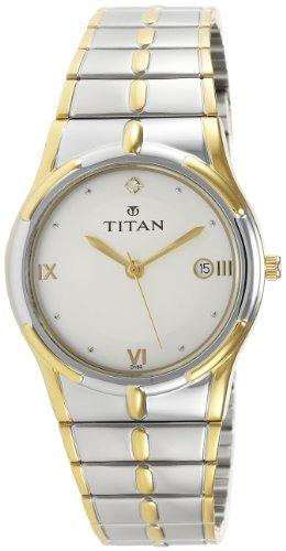 Titan Karishma Analog White Dial Men's Watch - NE9314BM01A image