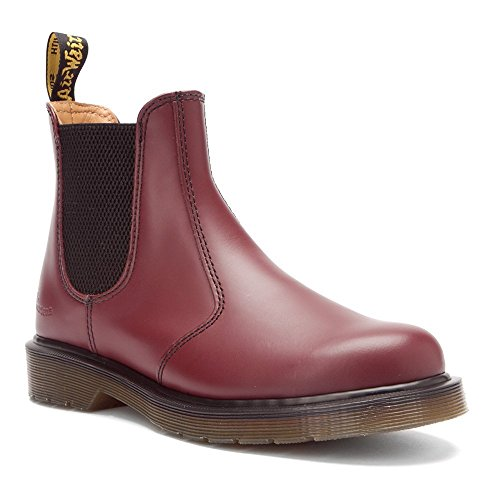 Dr. Martens 2976 Smooth Unisex-Erwachsene Chelsea Boots Kirsch