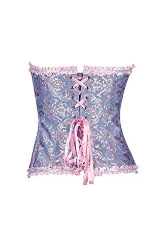 Hysenm - Bustino - Corsetto -  donna bleu rose