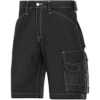 Snickers 31230404048 Size 48 Craftsmen Shorts - Black