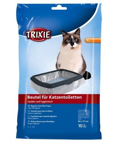 Trixie lettiera Bags XL fino a 56 × 71 cm 10 x 6 Packs – 60 Bags – Bulk