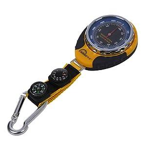 REFURBISHHOUSE Multifunktion 4 in 1 Mechanisch Hoehenmesser Barometer Kompass Thermometer