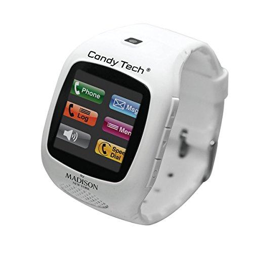 MADISON NEW YORK Unisex Digital Uhr mit Plastik Armband CT-03 Candy Tech