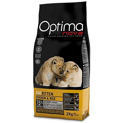 Optima nova - Pienso para Gatos ã'ptima Nova Kitten Pollo y arroz