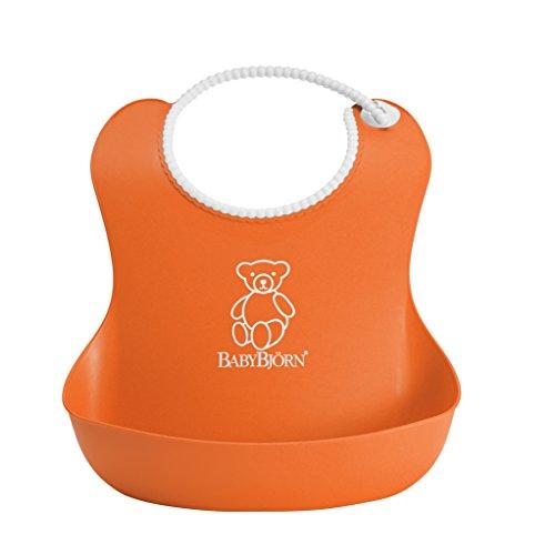 babybjrn-bavoir-souple-orange