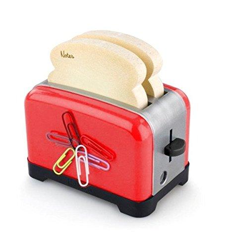 Preisvergleich Produktbild Der ultimative OfficeToaster - Rot: Halter für Memopads,  Büroklammern,  Handydock,  Bleistiftspitzer