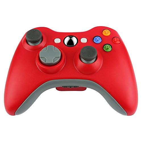 Prous Xbox 360 Controller Xw20 Wireless Controller Xbox 360 Wireless Gamepad For Pcxbox 360(red)