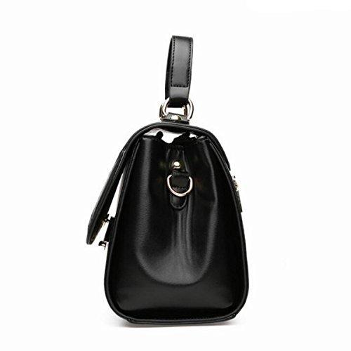 MEI Frau Umhängetasche Handtasche Messenger Bag black