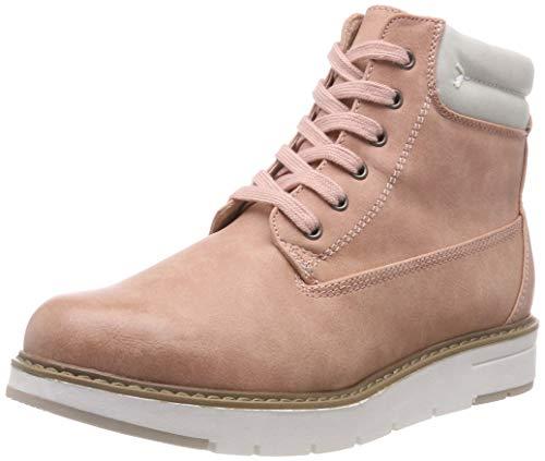 MARCO TOZZI Damen 26244-21 Combat Boots, Pink (Rose/Ice 570), 41 EU