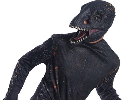 World Jurassic Velociraptor Kostüm - Rubie's Herren Jurassic World Indoraptor Vinyl Maske