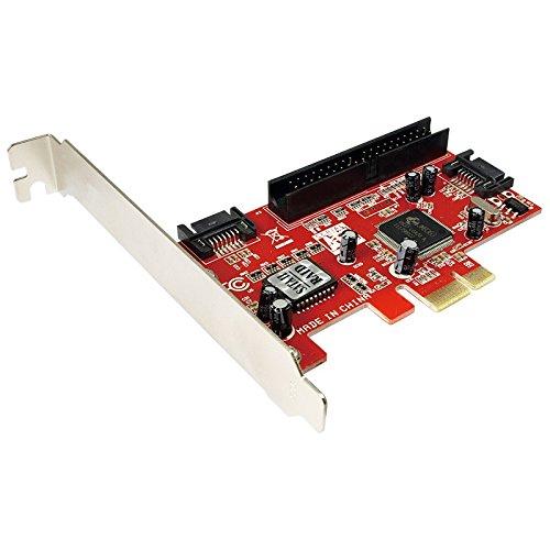 LogiLink PCI Express Schnittstellenkarte SATA 2x + IDE 1x