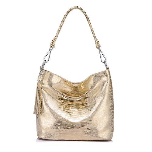 IHMBUI Frauen Handtasche Leder Crossbody Umhängetaschen Weibliche Hobos Tasche Animal Prints Leder Messenger Bags Für Damen -