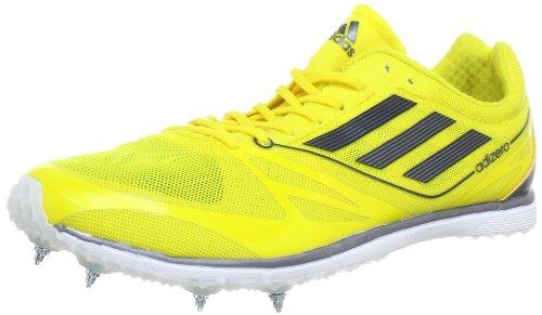 adidas Performance Adizero Cadence 2 Q34037 Unisex-Erwachsene Laufschuhe Gelb (Vivid Yellow S13 / Black 1 / Black 1)