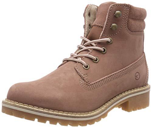 Tamaris Damen 25242-21 Combat Boots, Pink (Old Rose 517), 38 EU