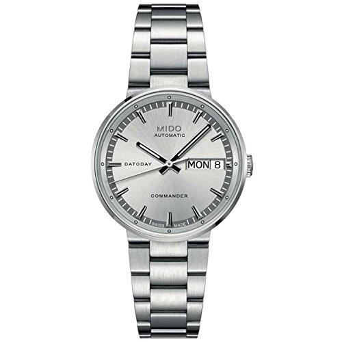 Mido Damen Analog Automatik Uhr mit Edelstahl Armband M0142301103180