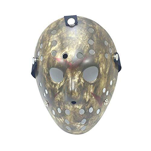 akiter Jason Halloween Kostüm Maske Für Anonyme Versammlungen Halloween Kostüm Rave Ereignisse Halloween-Party Für Kinder Jungs Frauen Männer Erwachsene
