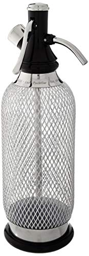 ISI Sodamaker Classic, Polyethyleen, Stainless, 10 x 10 x 32 cm Isi Siphon
