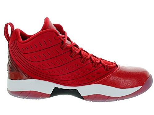 Nike Velocity Gym rouge / noir blanc Basket / / blanc chaussures 8-nous Gym Red/Black/White/White