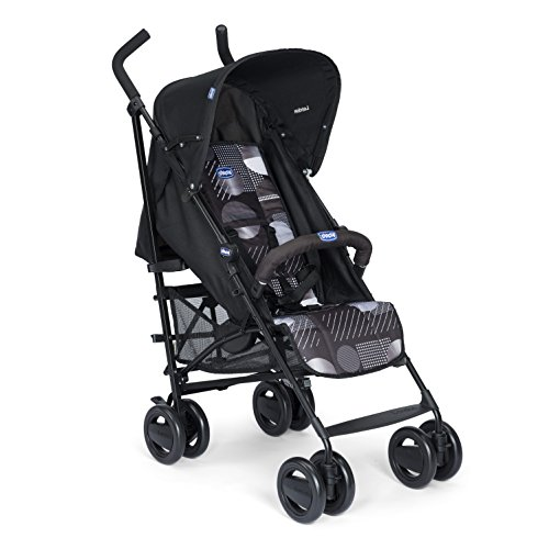 CHICCO LONDON - SILLA DE PASEO  7 2 KG  COMPACTA Y MANEJABLE  COLOR NEGRO