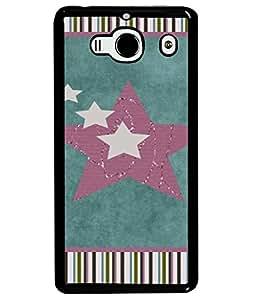 Fuson Designer Back Case Cover for Xiaomi Redmi 2 :: Xiaomi Redmi 2S :: Xiaomi Redmi 2 Prime (Hearts Spades Star Stars Love )