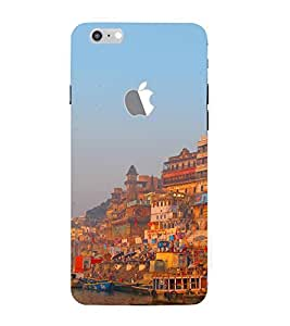 ifasho Designer Back Case Cover for Apple iPhone 7 (Logo View Window Case) (Cities Medan Indonesia Bhiwani)