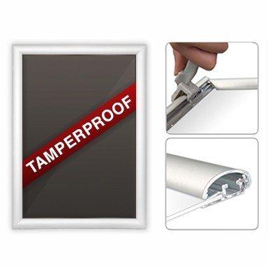 A3seguridad Tamperproof marco para fotos con Póster de soporte para pantallas al por menor–envío gratuito.