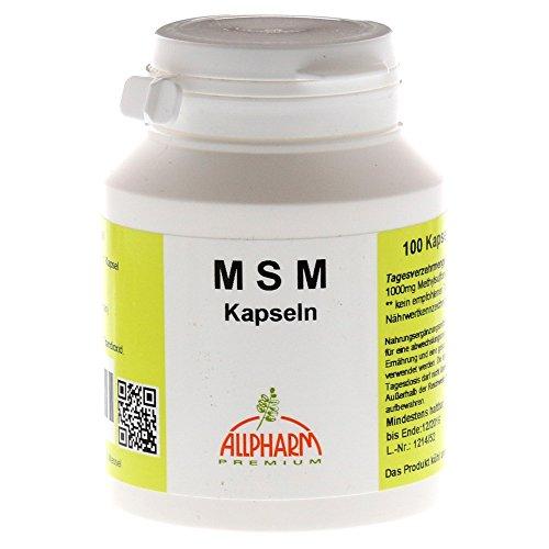 MSM 500 mg, 100 St. Kapseln