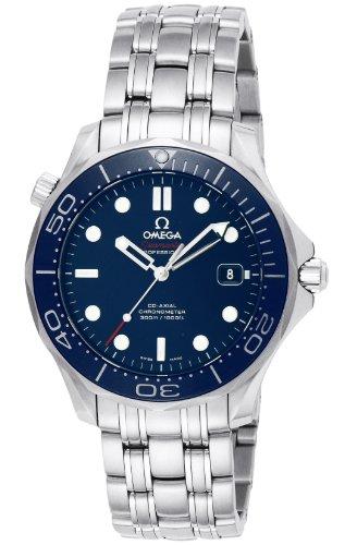 Omega da uomo 41mm con cinturino e cassa in acciaio orologio automatico analogico 21230412003001
