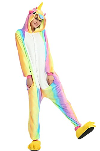 KiKa-Monkey-Flannel-Unicorn-Cartoon-Animal-Nol-Cosplay-Pyjamas