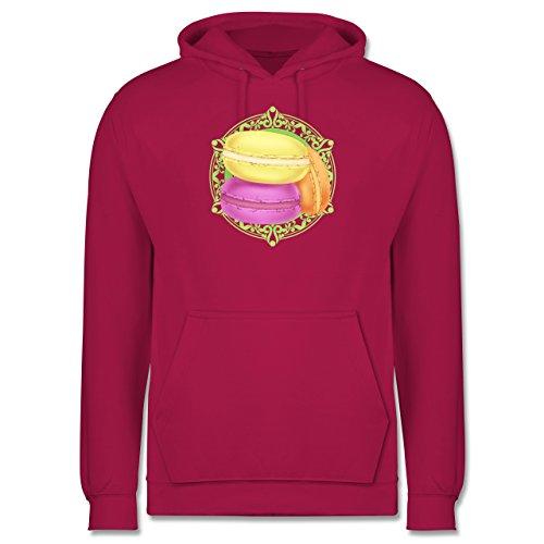 Statement Shirts - Macaroon - Männer Premium Kapuzenpullover / Hoodie Fuchsia
