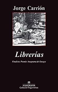 Librerías par Jorge Carrión