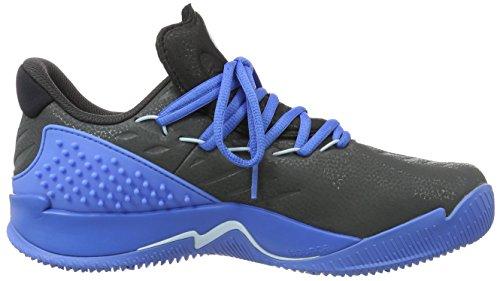 adidas Ball 365 Low, Scarpe da Basket Uomo Multicolore (Cblack/Utiblk/Rayblu)