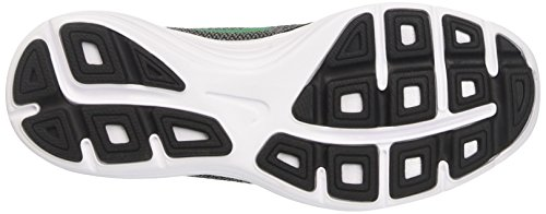 Nike Revolution 3 Gs, Sneakers Mixte Enfant Noir (Black / Stadium Green / Cool Grey / White)