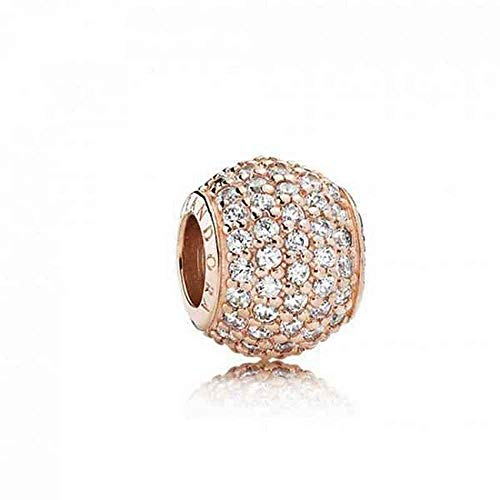 Pandora Damen-Bead Charms 925 Sterlingsilber 781051CZ (Pandora Murano Gold)