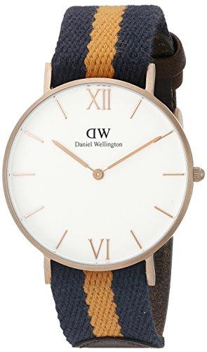 Daniel Wellington 0554DW - Reloj de cuarzo para mujer, con correa de tela, color multicolor