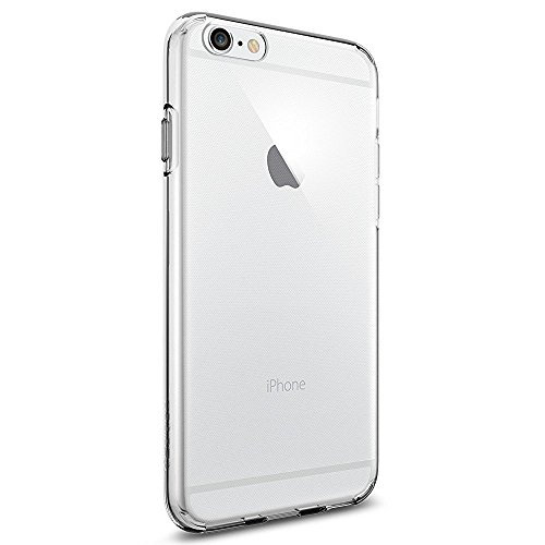 Coque iPhone 6s, Spigen® Coque iPhone 6 / 6s [ Liquid Crystal ] Housse Etui TPU Silicone Clair Transparente Ultra Mince Premium Semi- transparent / une Adhrence exacte / Sans Encombrement Douce Coque pour iPhone 6 - Liquid Crystal (SGP11596)