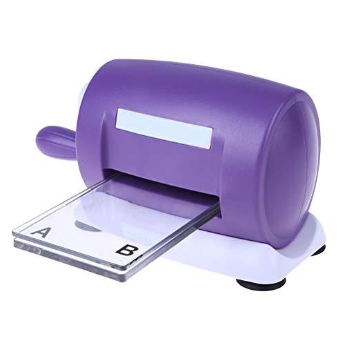 YeahiBaby Máquina Troqueladora Herramienta de Scrapbooking Bricolaje Manualidades (Púrpura)