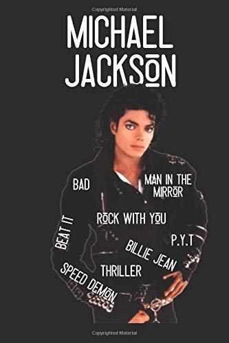 Michael Jackson: Michael Jackson Journal | Notebook | Beat it | Music | Blank Lined Journal (Blank Music Journal)