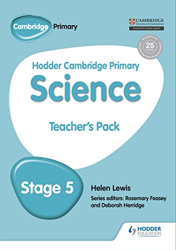 Hodder Cambridge Primary Science Teacher\'s Pack 5