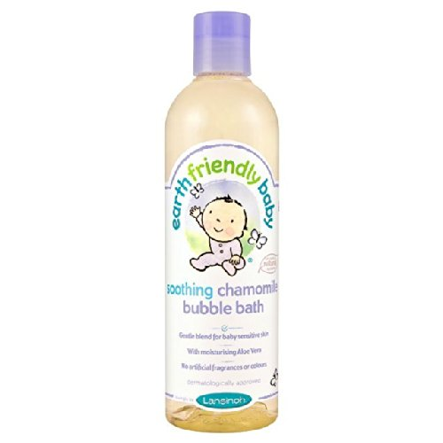 Earth Friendly bebé Orgánica Calmante Manzanilla Baño de espuma 300ml