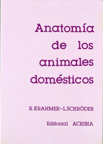 Anatomía de los animales domésticos por Rolf Krahmer