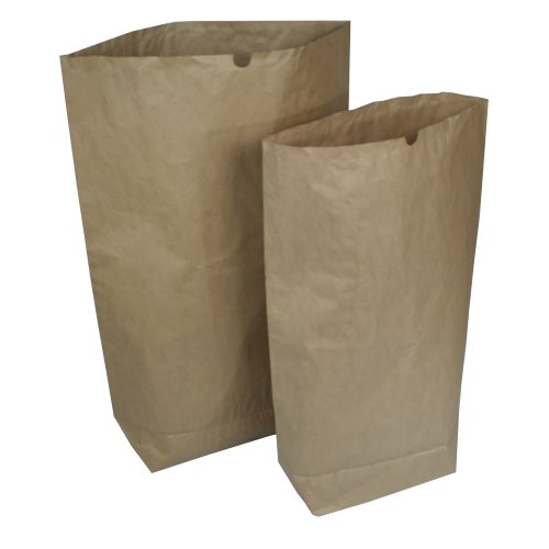 Papiersäcke Papierbeutel Bio Müllsäcke 2 Varianten 120 L oder 70 L STÜCKZAHL WÄHLBAR (50 Stück 70 Liter)