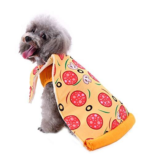 CHIYEEE Weihnachten Haustier Lustig Kleidung für Hunde und Katzen Niedlich Hundebekleidung Welpen Halloween Sweatshirt T-Shirt Kostümiert M