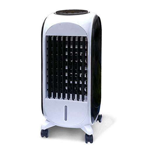 YNN Fernbedienung Klimaanlage Lüfter Mobile Air Cooler 3-Gang-Anpassung Tragbare Haushalts Cold Air Fan Luftreiniger 80W