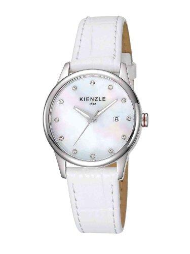 Kienzle - K3042014061-00037 - Montre Femme - Quartz Analogique - Bracelet Cuir Blanc